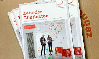 Прайс-лист Zehnder Charleston 2020